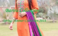 lawn dresses for women 2014-15 by Barira collection