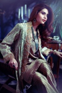 Maheen karim Wedding Wear Collection 2014 (4)