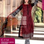 Latest women fancy lawn collection 2014 by Gul Ahmed