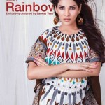 Sitara Sarwat Yasir rainbow lawn collection 2014-15