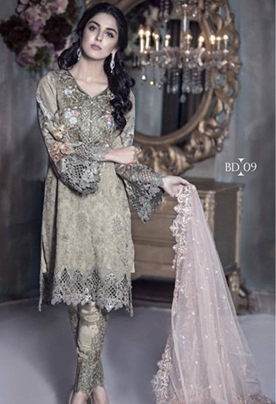 Maria B latest party dresses 2016