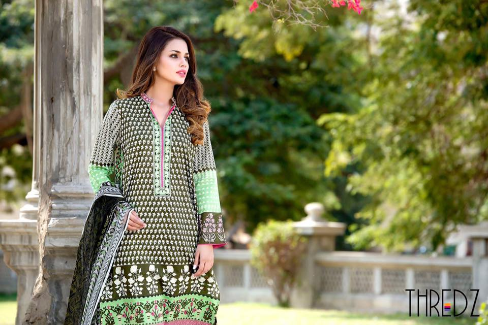 Thredz summer lawn dresses 2016
