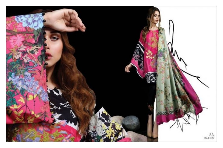 Sana Safinaz Muzlin Vol-2 Eid Collection 2018-17