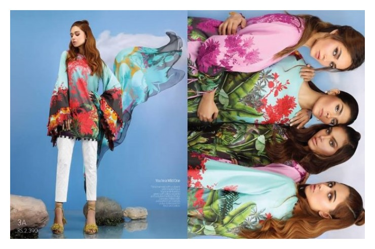 Sana Safinaz Muzlin Eid Collection Vol-2 2017