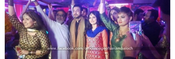 Sanam Baloch on her brother Wedding (9)