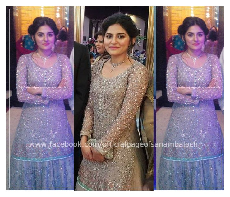 Sanam Baloch on her brother Wedding (1)