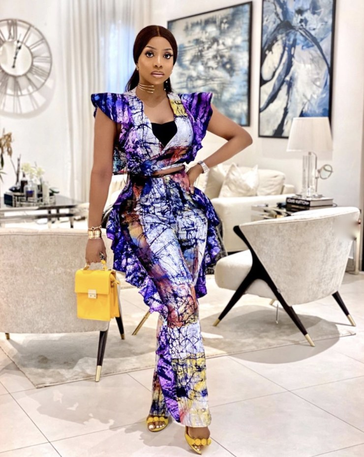 Chioma goodhair adire fabrics two piece sets stylerave