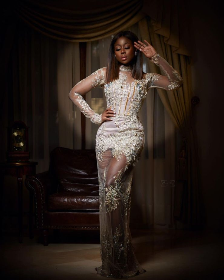 Sika Osei- Looking Dazzling For The Weekend