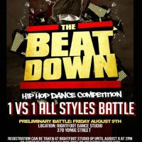Beatdown Hip Hop Competition in Toronto