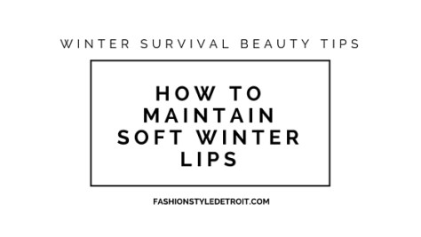 Winter Survival Beauty Tips...