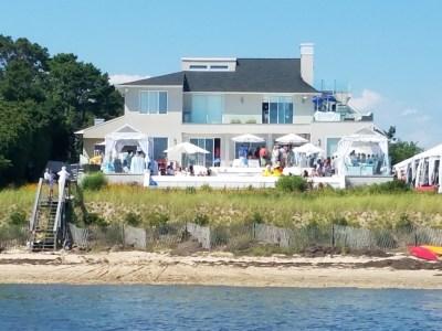 Jill Zarin Estate View from Iguana Yachts Boat Ride