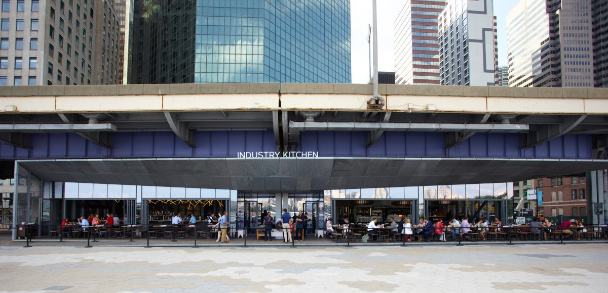 Restaurant Review: Industry Kitchen South Street Seaport