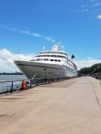 Star Legend Docked in Bordeaux