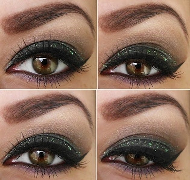 Green Eyeshadow Brown Eyes