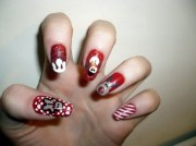 cute christmas nail ideas