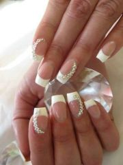 gorgeous bridal nail ideas