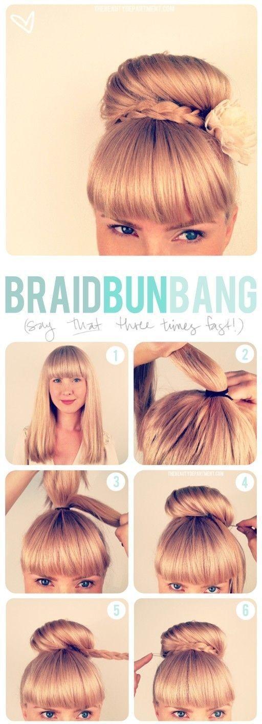 Super Easy Step by Step Hairstyle Ideas  fashionsycom