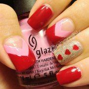 nail ideas valentine's day