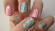 flower nail design perfect