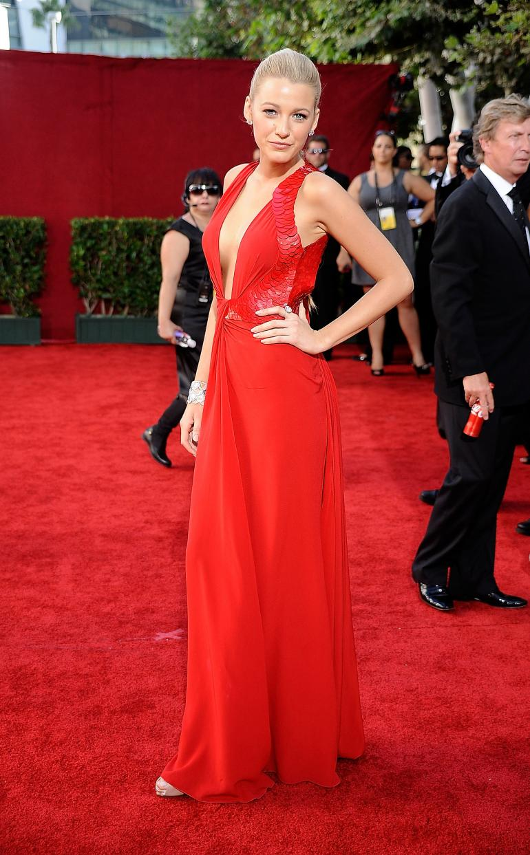 Blake Lively  Best Red Carpet Looks  fashionsycom