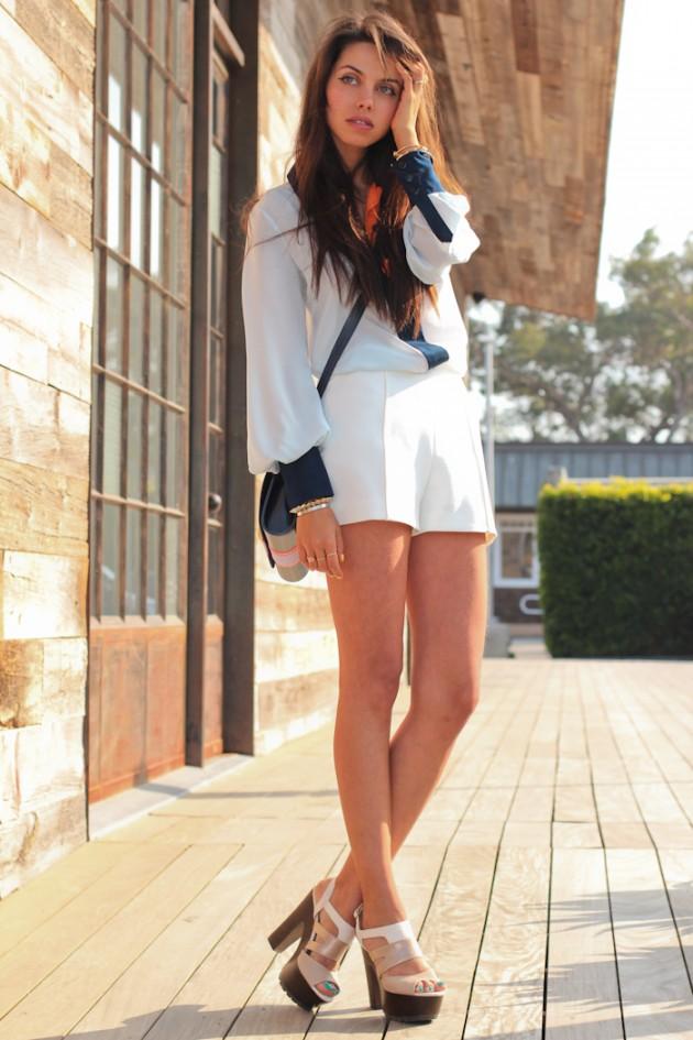 How To Wear Your Favorite Chunky Heels  fashionsycom