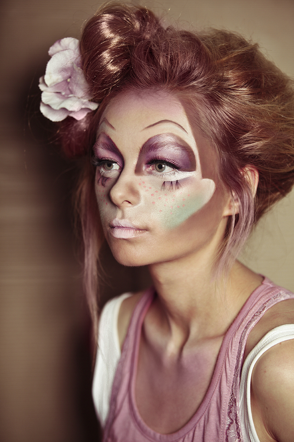 16 Creative Halloween Makeup Ideas  fashionsycom