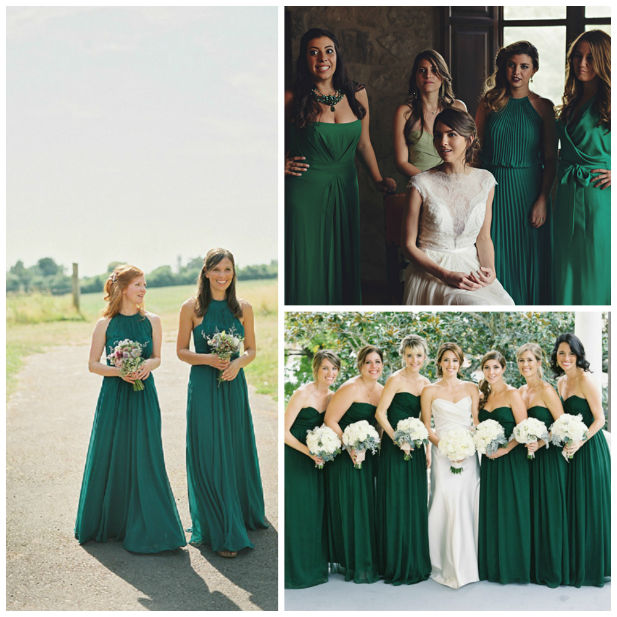 7 Fall Wedding Colors For Bridesmaid Dresses