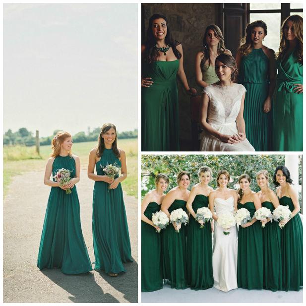 7 Fall Wedding Colors For Bridesmaid Dresses  fashionsycom