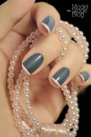 grey nail ideas - hottest manicure