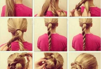 Long Hair Updos With Braids