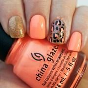 fabulous animal print nail art