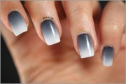 adorable grey nail ideas