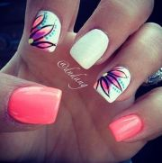 beautiful spring nail arts