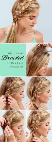 stylish step-step hairstyle