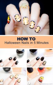 absolutely awesome halloween nail