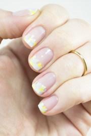 eye-catching french manicure