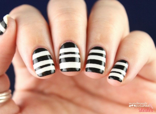 17 Striped Nail Designs You Should Not Miss Fashionsycom