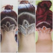 trendy undercut haircut design