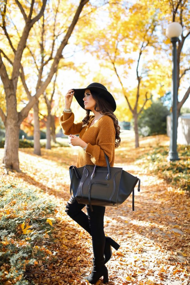 Outfits With Mustard Sweaters That Will Make You Want One