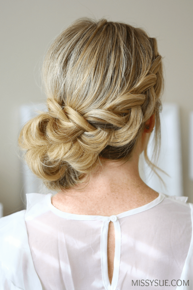 Side Prom Hairstyles For Long Hair