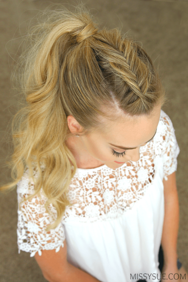 12 Perfect Holiday Braided Hairstyles from Missy Sue  fashionsycom