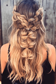bohemian hairstyle ideas
