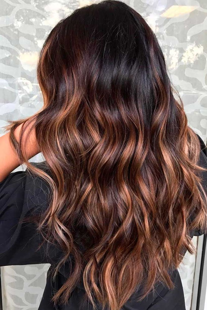 Hair Colors Of 2018 Splendid Caramel Ombre Ideas To Show To Your Hairdresser