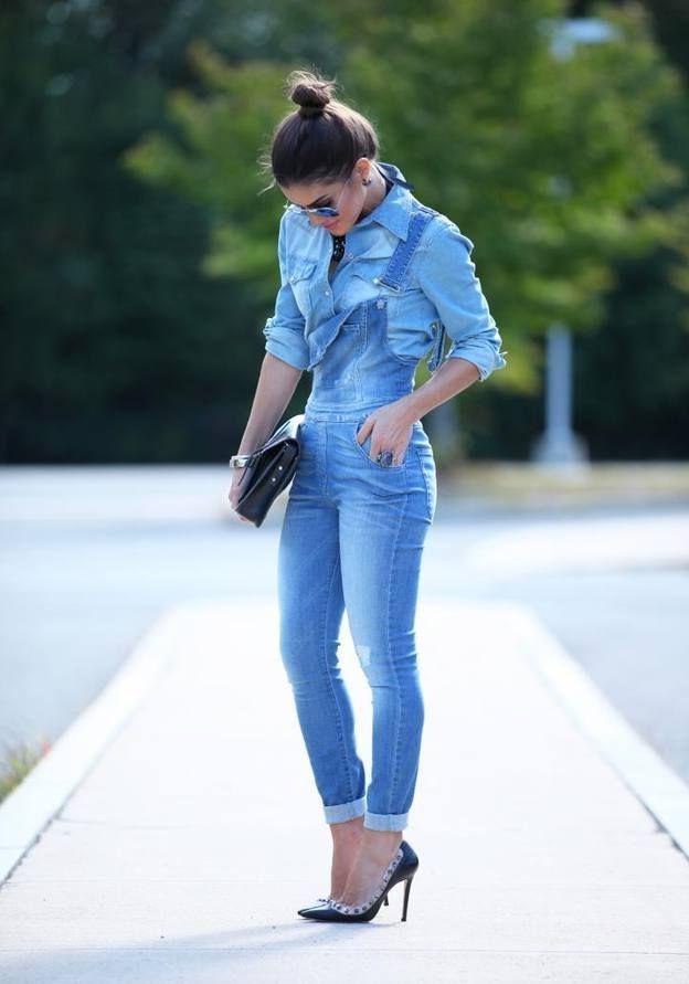 15 Ways To Wear Denim Overalls 2019  FashionTastycom