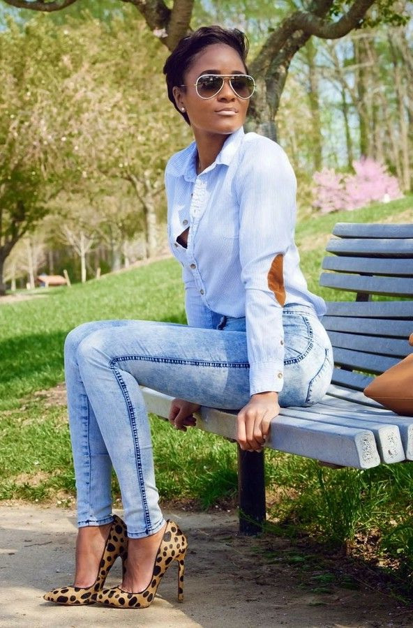 How To Wear High Waisted Jeans Outfit Ideas 2019