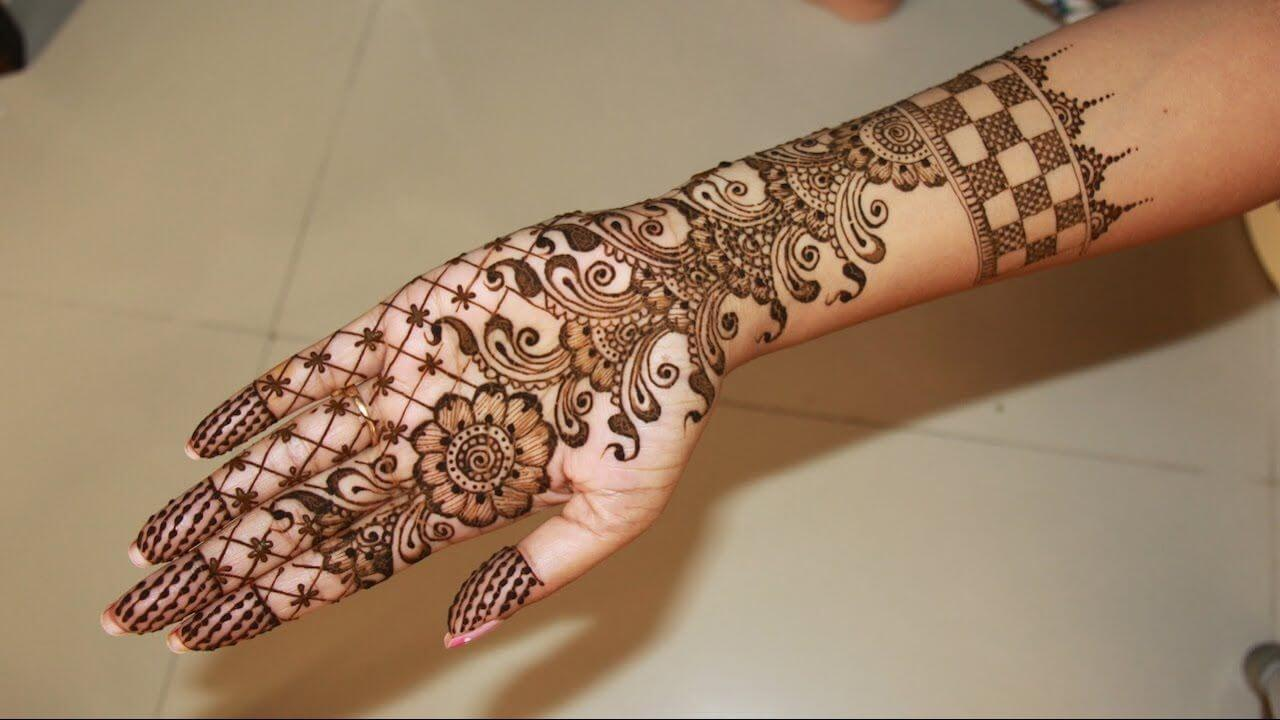 Mehndi Design Simple Arabic Images 2019