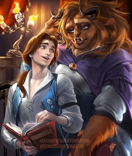Beauty Belle and the Beast Artwork