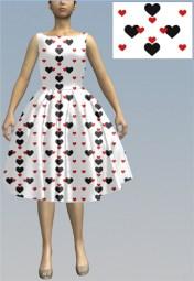 hearts9 print