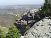 Rock City Chattanooga Tennessee Lookout Mountain Georgia Review