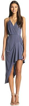 BCBGeneration Women's Pleat Skirt Dress Vapor Medium